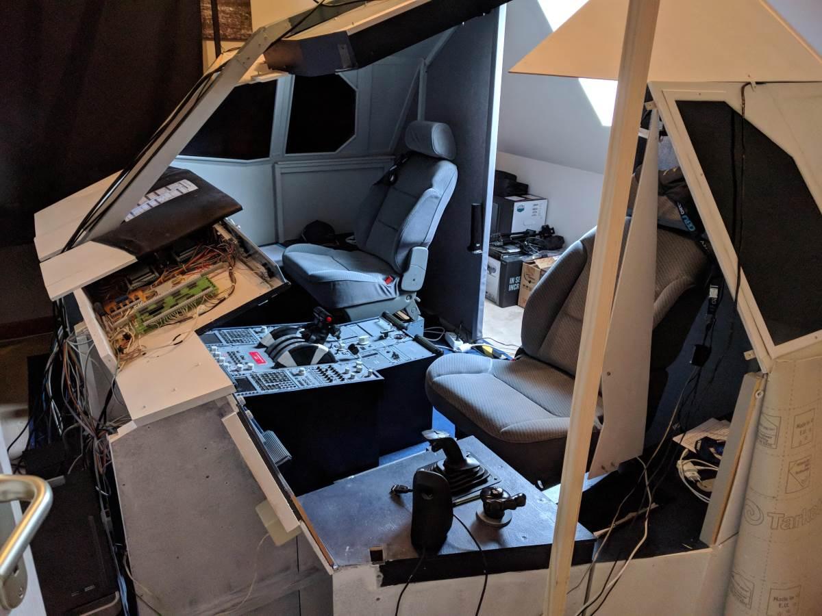 refonte cockpit démontage
