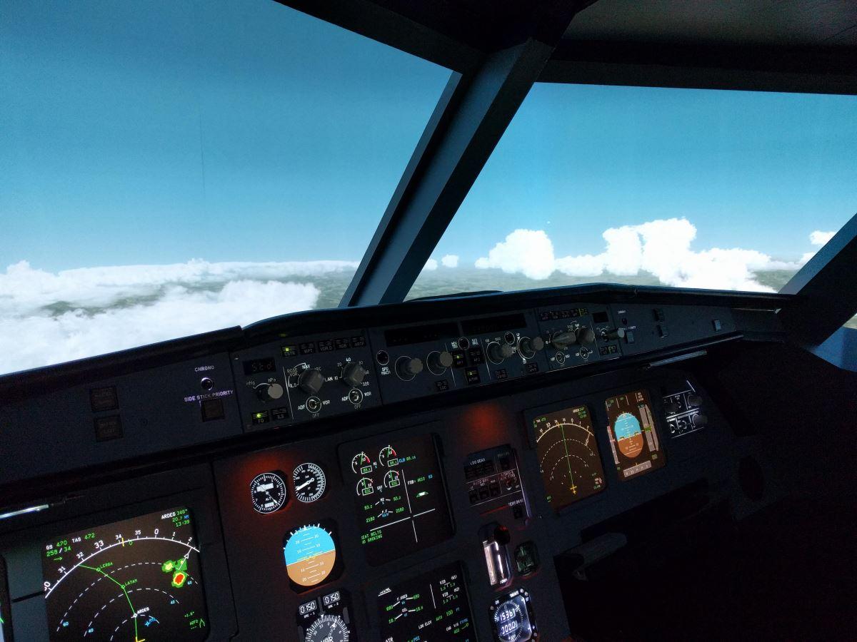 ecran courbe airbus A320